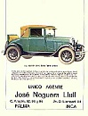 Cartel Ford módelo 1928.